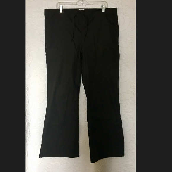 e211daecc5a Landau Pants | Womens Modern Fit Flare Leg Cargo Scrub Med | Poshmark